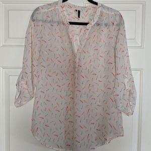 Maurice kimono style blouse size M